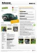 Robomow Professional 2013 - Datenblattmappe - Pirker Gartentechnik - Seite 3