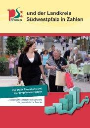 und der Landkreis Südwestpfalz in Zahlen - Stadt Pirmasens
