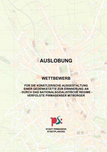 AUSLOBUNG - Stadt Pirmasens
