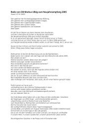 Rede von OB Ulbig - Pirna