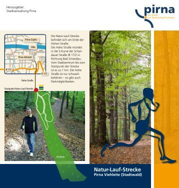 Natur-Lauf-Strecke - Pirna