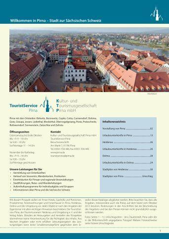 Willkommen in Pirna – Stadt zur Sächsischen Schweiz