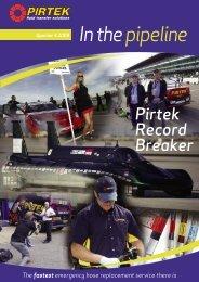 In the pipeline - Pirtek