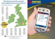 The fastest 'over the counter' hose replacement service there ... - Pirtek