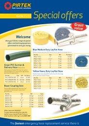 Special offers - Pirtek