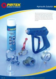 Hydraulik-Zubehör - Pirtek