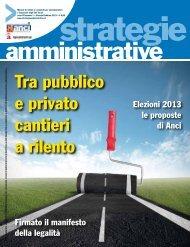 Gennaio-Febbraio - Strategie Amministrative