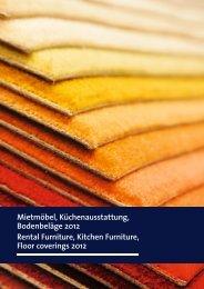 Rental furniture and kitchen equipment - EuroBLECH 2012