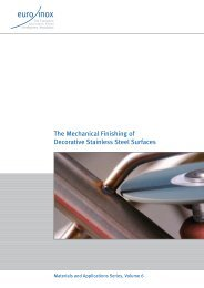 The Mechanical Finishing Of Decorative Stainless Steel ... - Euro Inox