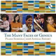 The Many Faces of Genius - Plano Independent School District