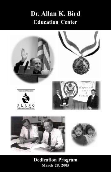 Dr. Allan K. Bird Education Center - Plano Independent School District