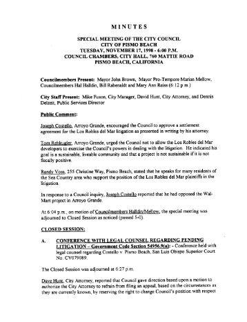 PDF MAKE - City of Pismo Beach