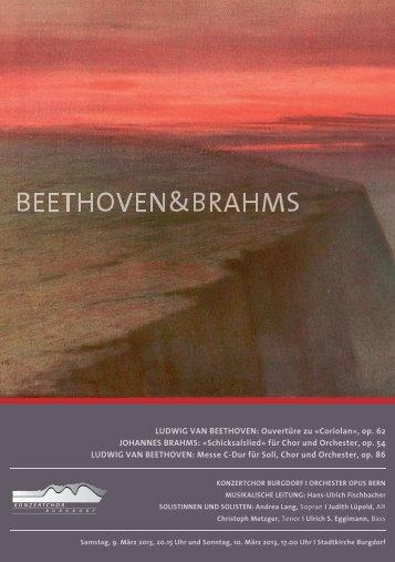 LUDWIG VAN BEETHOVEN: Ouvertüre zu «Coriolan», op. 62 ...