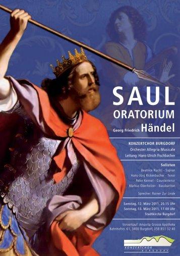 ORATORIUM - Konzertchor Burgdorf