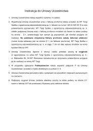 Formularz zgłoszeniowy (PDF 98.23 kB) - Polska Izba Turystyki