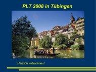 Vorstellung der Tübinger Praktika - Physikalisches Institut
