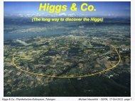 Higgs & Co.