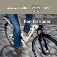 Komforträder - Evobike