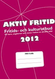 AKTIV FRITID 2012 - Piteå kommun