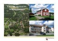 CENTRUMANALYS NORRFJÄRDEN - Piteå kommun
