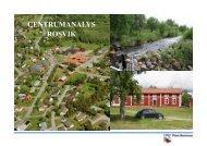 CENTRUMANALYS ROSVIK - Piteå kommun