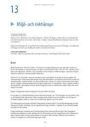 Miljö- och riskhänsyn - Piteå kommun
