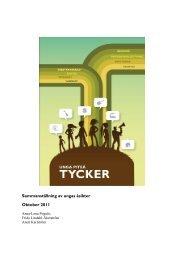 Unga och studenter i Piteå tycker 2011 - Piteå kommun