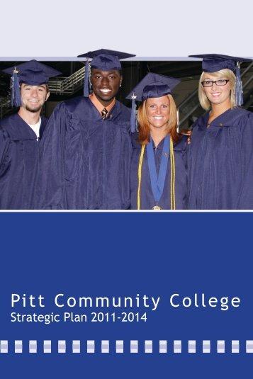 Strategic Plan 2011-2014 - Pitt Community College