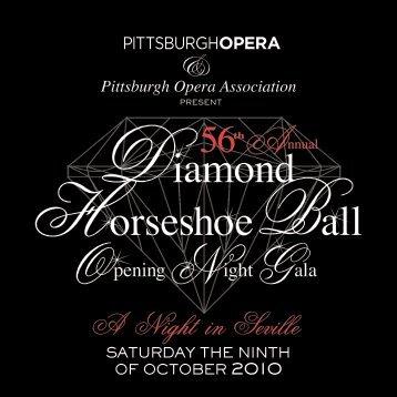 Diamond Horseshoe Ball - Pittsburgh Opera
