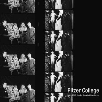 2009-10 Faculty Report of Excellence (PDF) - Pitzer College