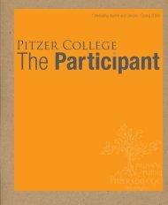Spring 2009 Participant - Pitzer College