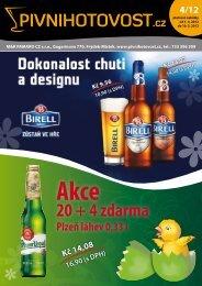 20 + 4 zdarma - Pivnihotovost.cz