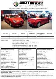 Download: Giulietta_Weitmann_Fotos_Genf.pdf - Autohaus Weitmann
