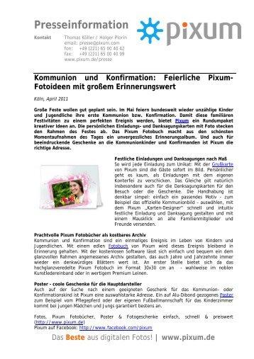Kommunion und Konfirmation - Pixum