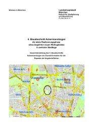4. Bauabschnitt Ackermannbogen