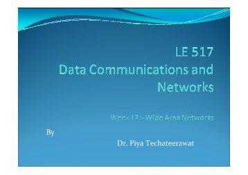 Lecture 12 - Dr.Piya Techateerawat