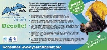 Décolle! - Bat Conservation International