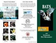 and integrated pest management - Bat Conservation International