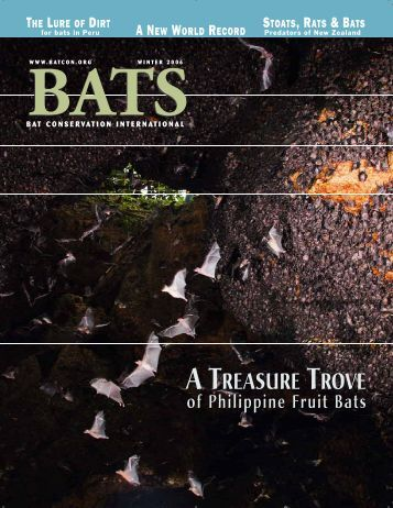 A TREASURE TROVE - Bat Conservation International