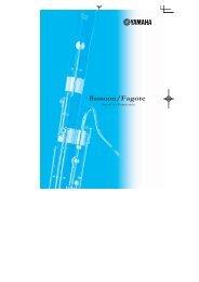 Bassoon/Fagote - Yamaha