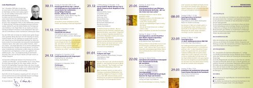 Liebe Musikfreunde! - Lutherkirche Wiesbaden