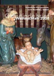 Weihnachten 2008 - St. Bonifatius, Gießen