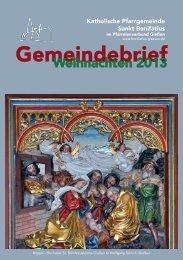 Gemeindebrief - Home: Sankt Bonifatius Giessen