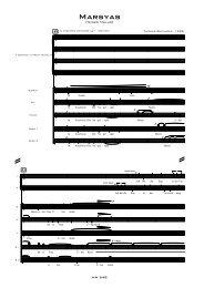 Marsyas - Thomas Buchholz - Komponist