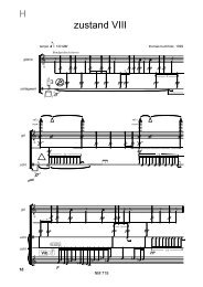 X X - Thomas Buchholz - Komponist