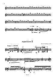 repetition II - Thomas Buchholz - Komponist
