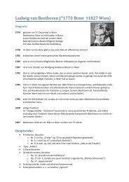 Ludwig van Beethoven - Thomas Buchholz - Komponist