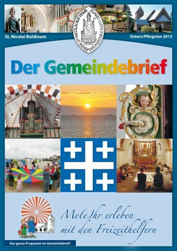 Der Gemeindebrief - St. Nicolai
