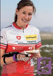 Nr. 33, Sommer 2013 (PDF, 9.3 MB) - Gantrischpost