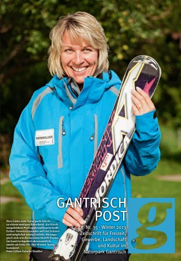 Nr. 35, Winter 2013 (PDF, 12.9 MB) - Gantrischpost